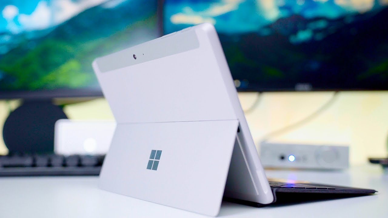 Microsoft Surface Go Review!!!! From Hating it   To LOVING it!