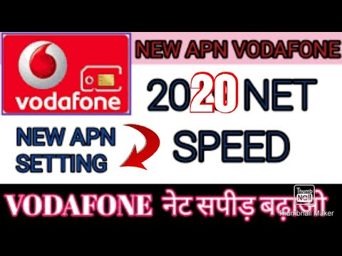 Vodafone 4G APN Settings For Android India