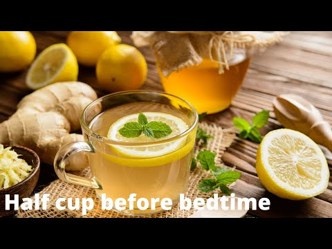 loosing belly fat with ginger tea | weight loss | Lose belly fat overnight| 1 cup at bedtime