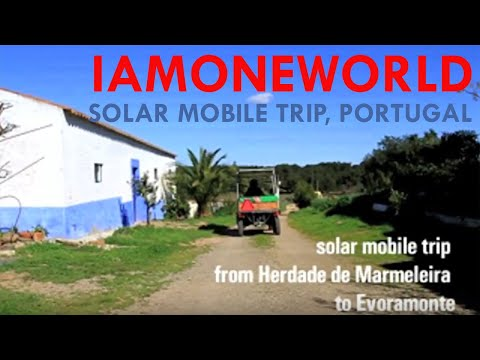 Solar mobile trip in Portugal