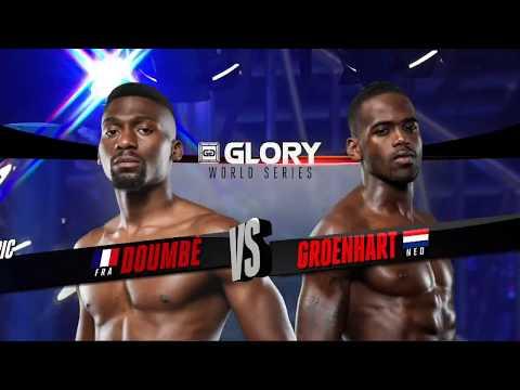 FULL MATCH - Cedric Doumbé vs. Murthel Groenhart - Welterweight Title Fight: GLORY 44 Chicago