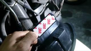 รีวิววิธีติดตั้งกันขโมยกุญแจชิป RF10 Yamaha Filano