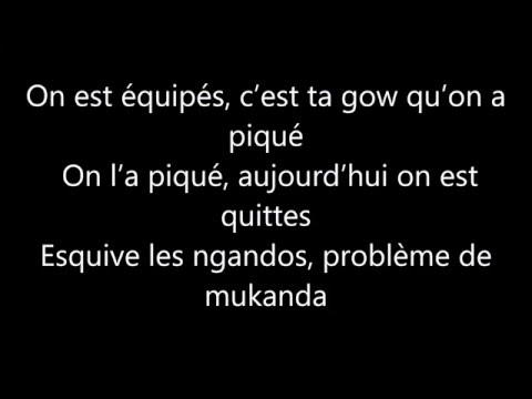 Keblack ft  Naza On est équipés (paroles)