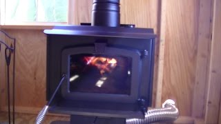 Testing out the new Wood Stove