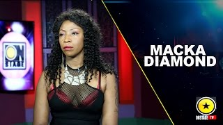Macka Diamond : New Look, New Attitude & Music