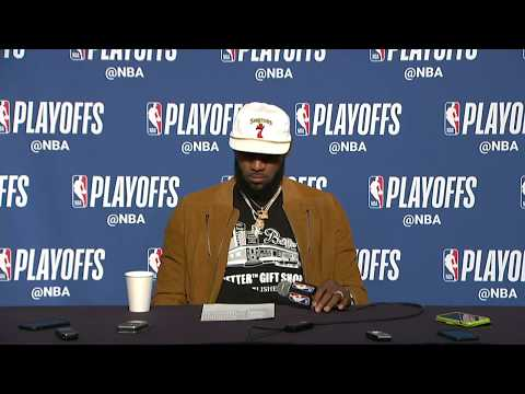 LeBron James Postgame Interview | Cavaliers vs Raptors Game 3