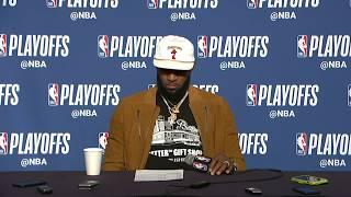 LeBron James Postgame Interview   Cavaliers vs Raptors Game 3