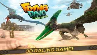 Flying Dino Simulator Game 3D- By Free Wild Simulator Games Simulation - iTunes/Android