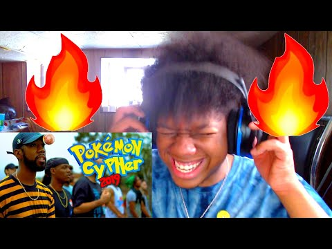 NOTHING BUT HEAT   POKEMON CYPHER 2019 REACTION!!!