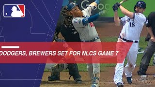 Dodgers, Brewers are ready for Game 7 of the NLCS