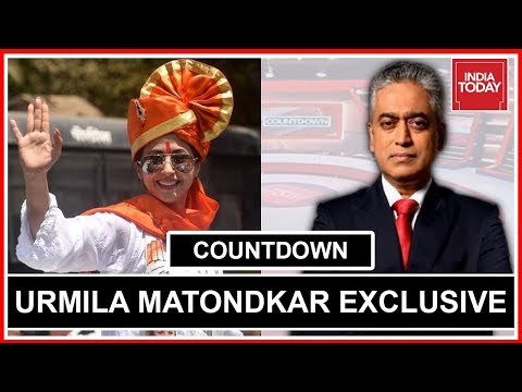 Urmila Matondkar Exclusive On Her Journey From Actor To Politician | Countdown with Rajdeep Sardesai