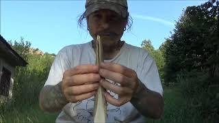 Bulgarian horn bow. Part 1