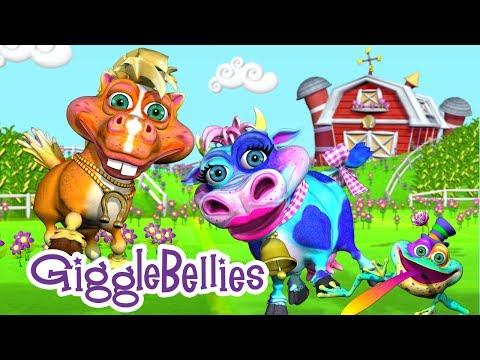 Old MacDonald Had A Farm | Nursery Rhymes | GiggleBellies