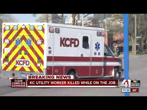 Utility worker fatally shot east of downtown KC