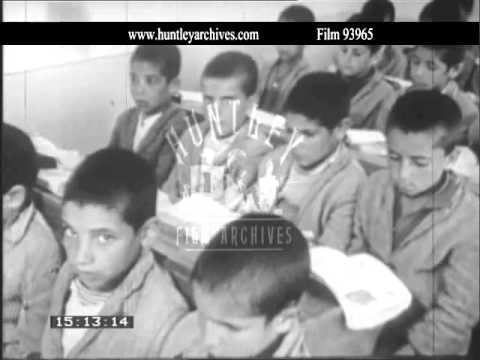 Iran, agriculture and farming, 1970's.  Archive film 93965