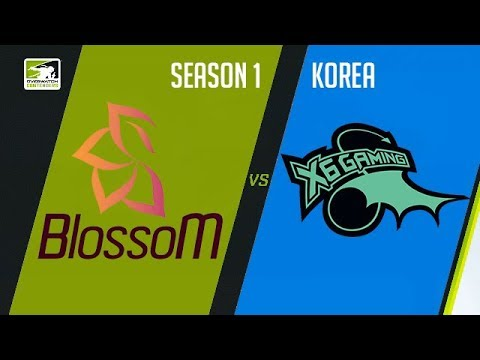 BlossoM vs X6-Gaming (Part 1) | OWC 2018 Season 1: Korea