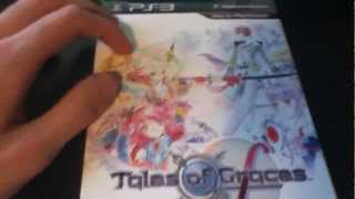 Tales Of Graces F: Day One Edition Unboxing