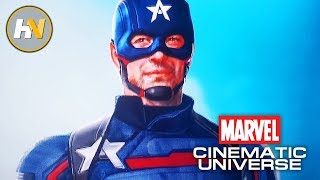 Marvel's expanding the universe special gave us new looks at falcon and winter soldier, including debut of john walker!newsletter: http://eepurl.com/...