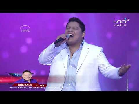 Gonzalo canta una linda canción | Hits de la música |  Factor X Bolivia 2018