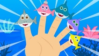 Baby Shark Finger Family Song Baby Shark Nursery Rhymes for Children