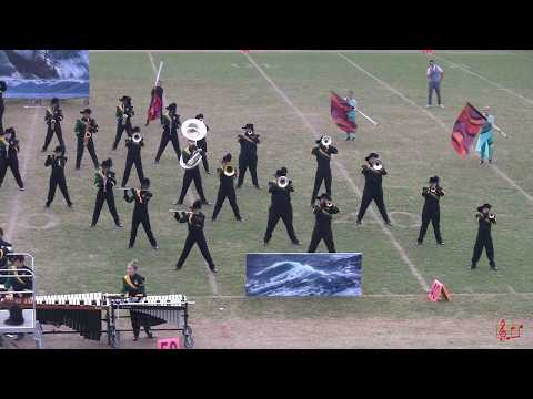 Eastern Randolph High School Wildcat Marching Band 10/28/2017