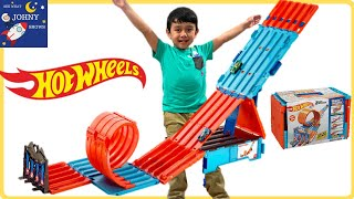 Hot Wheels Cars Race Crate | Toy Cars For Kids Racing