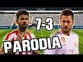 Canción Atletico Madrid vs Real Madrid 7-3 (Parodia Otro Trago Remix) 2019