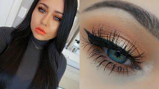 Spring Monotone Orange Makeup Tutorial