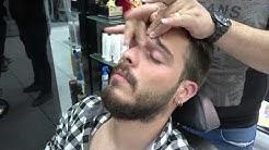 ASMR Turkish Barber Face, Head and Body Massage 284