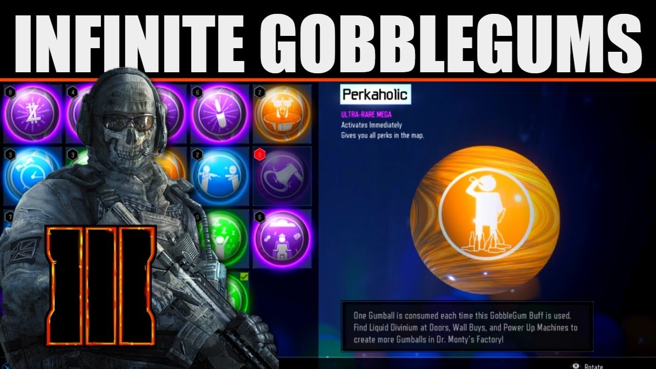 How To Never Loose Gobblegums (Call of Duty Black Ops 3 Zombies) Complete Guide