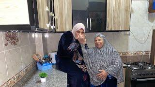 رد فعل امي لما جدت لها المطبخ وخليته مطبخ عروسه وجوله كامله في المطبخ الجديد