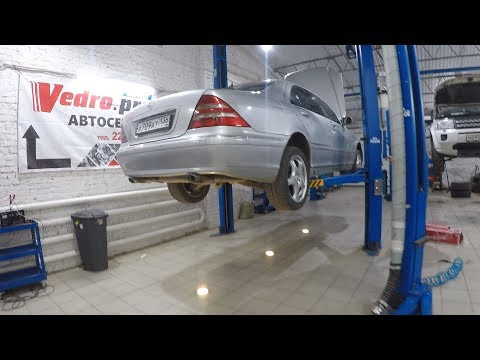 Смотреть Mercedes W220 по цене ЖИГУЛЕЙ!!! НА КАКОЙ РЕМОНТ Я ПОПАЛ??! онлайн