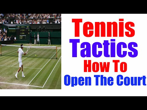 Tennis Tactics | All Pros Use This Strategy