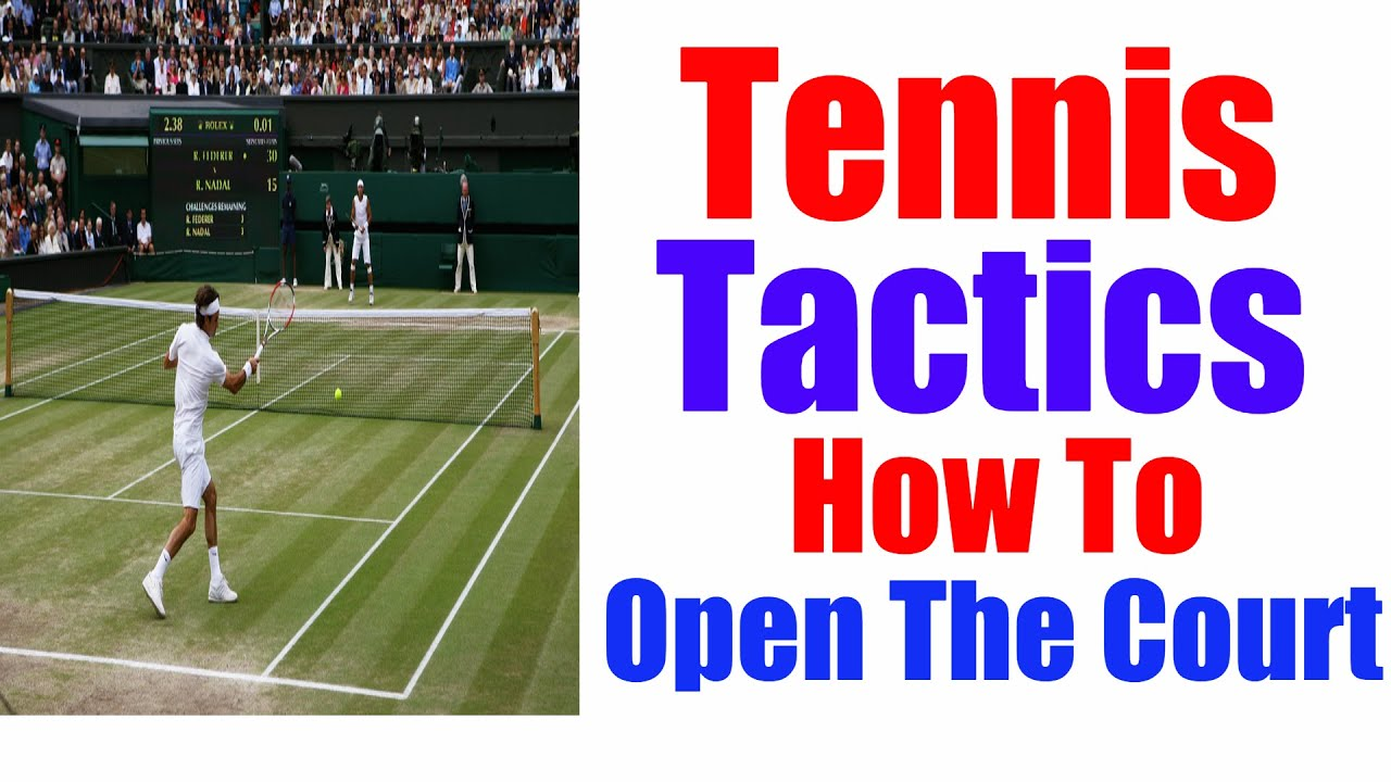 Tennis Tactics All Pros Use This Strategy Youtube