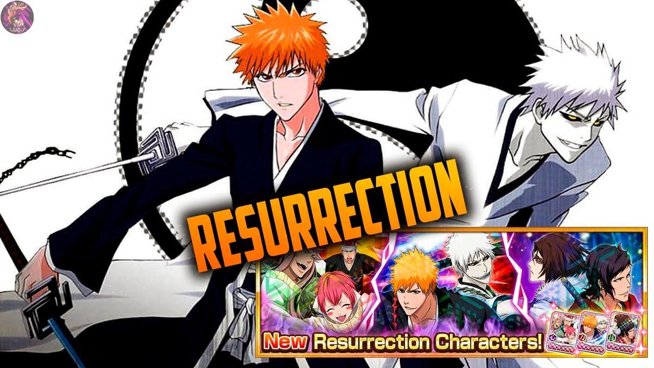 RESURRECTION: Ichigo TT, Renji TT y Koga TT   Bleach Brave Souls Español