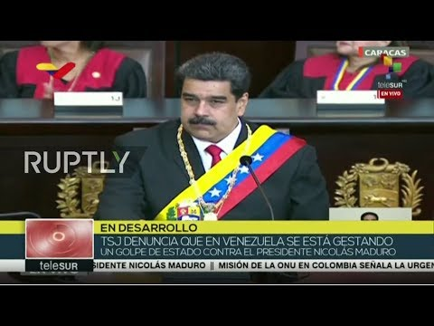 LIVE:Maduro holds statement in Caracas