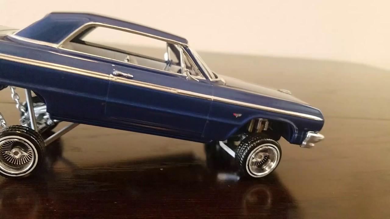 Six Four Impala Lowrider Model Car Hydraulics