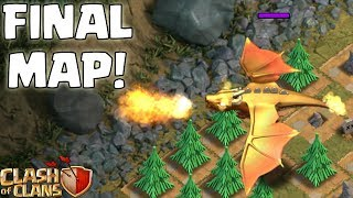 DRAGON'S LAIR ☆ Clash of Clans ☆ FINAL SINGLEPLAYER MAP!