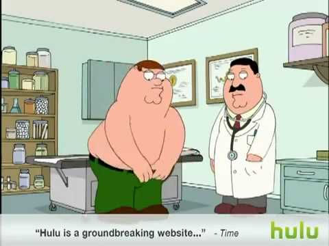 Peter Gets A Prostate Exam