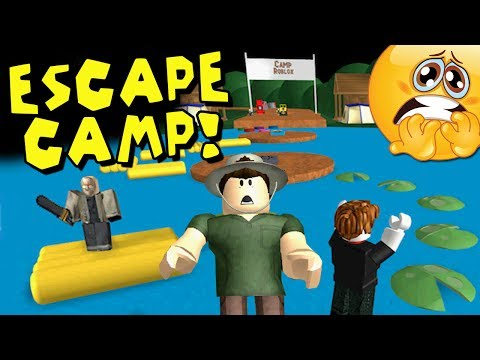 Roblox - Can You Escape From Evil Camp!?