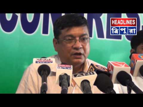 Ashok Sinha press conference on Tripura elections news