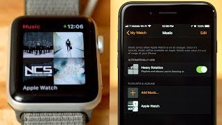 How to Load Music onto our Apple Watch!