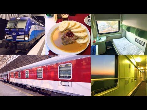 Berlin - Košice  - Prešov on Direct Train in Slovak Sleeping Car and First Class Seating Car