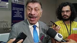 Coletiva de imprensa de José Patriota | Reunião com o ministro-chefe Luiz Eduardo Ramos