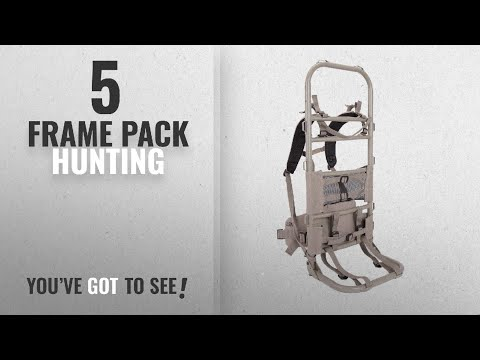 Top 10 Frame Pack Hunting [2018]: Allen Rock Canyon External Hunting Pack Frame Tan