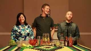 The Positive No Cooking Show - Green Tea Margaritas