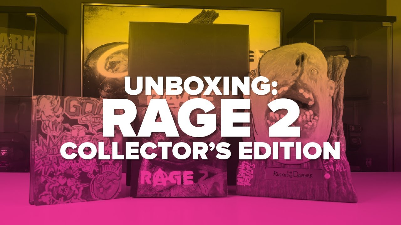 rage 2 collectors edition unboxing