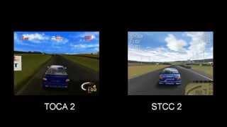 Comparison: TOCA 2 vs STCC 2 (Played on Windows 7)