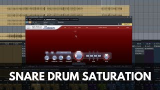How To Mix a Snare Drum with Saturation
