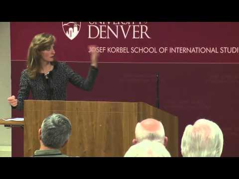 Laura Lane at the University of Denver.